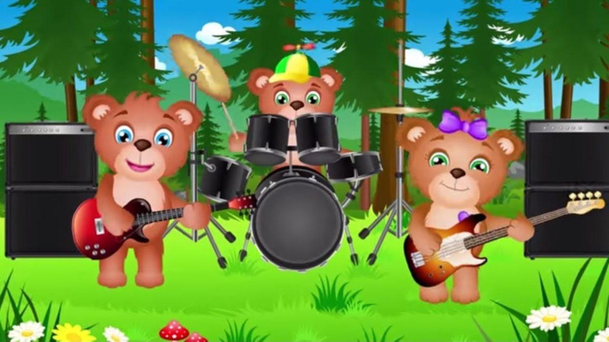 Muzyczne przeboje dla dzieci - Jadą jadą misie