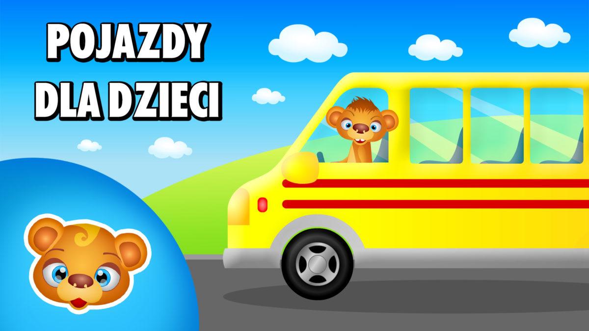 TTiU_Pojazdy dla dzieci - Autobus szkolny