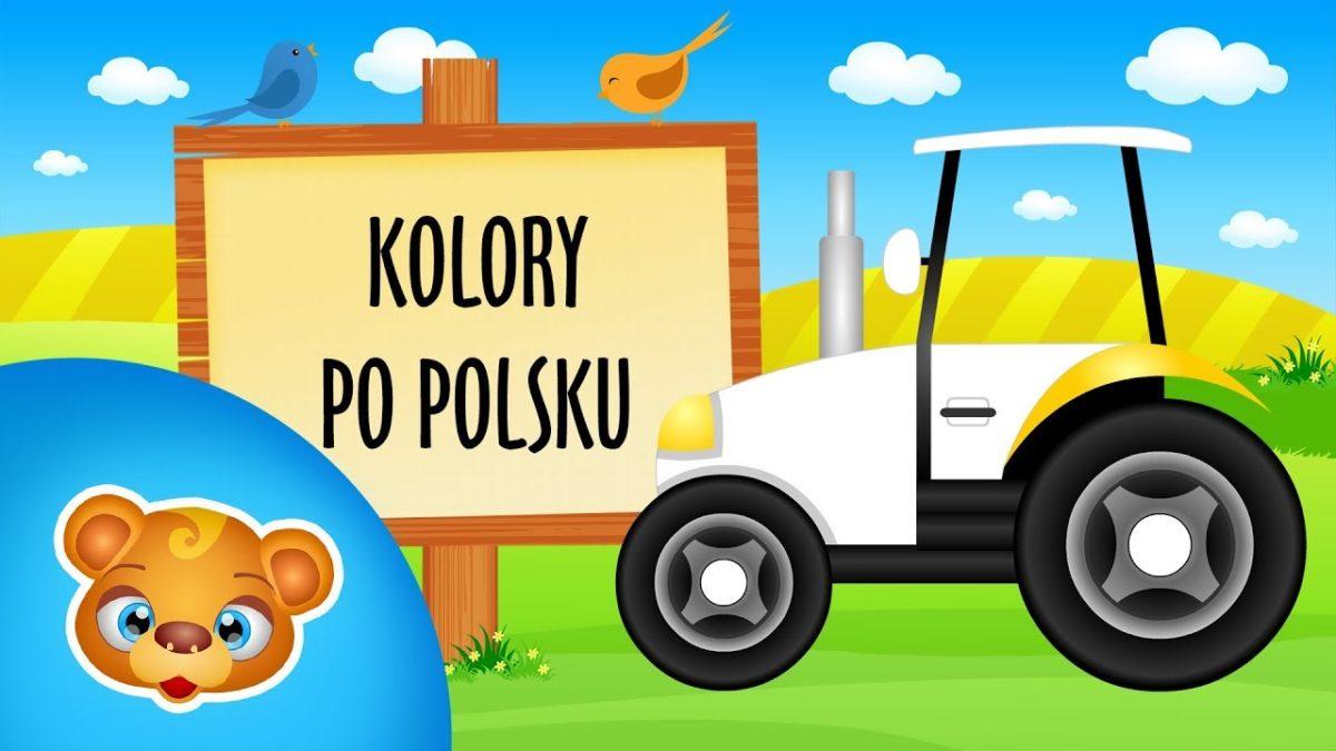 Kolory po polsku dla dzieci